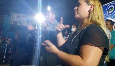 Tradução em Libras dos discursos é 'fato novo' na campanha eleitoral em Fátima do Sul