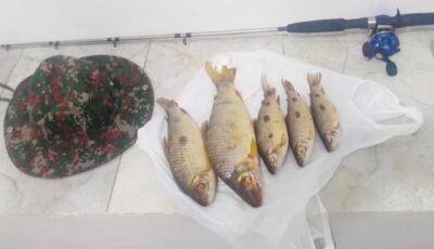 Pescador é pego na operação Ictiofauna por pesca predatória em Deodápolis
