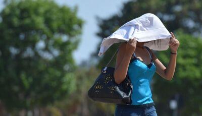 Cidades do MS e PI devem quebrar record histórico de temperatura no Brasil nesta quinta feira