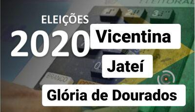 Confira se você está apto a votar e seu local de votação em Vicentina, Jateí e Glória de Dourados