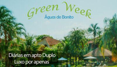 BORA PRA BONITO: Green Week, do Águas de Bonito tem a melhor tarifa do ano, confira agora