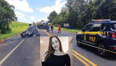 Muita comoção na morte da universitária de 20 anos em trágico acidente