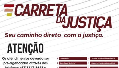 Agende antes e garanta Justiça gratuita em Jateí no dia 30/11 e 01/12