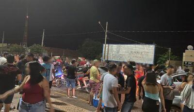 PM dispersa aglomeração em cidade de MS com classificação vermelha na pandemia