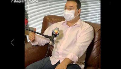 Deputado de MS se infecta com o novo coronavírus
