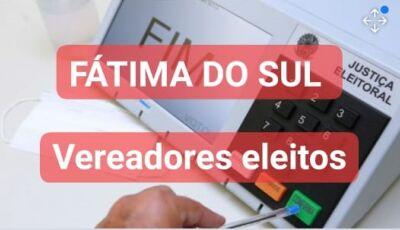 Com 3 vindo de Culturama, confira os 11 vereadores eleitos em Fátima do Sul