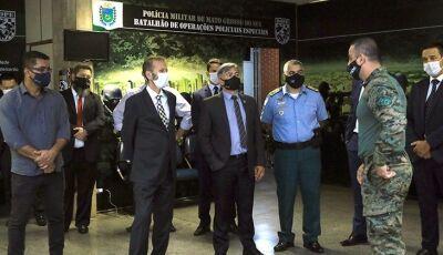 Secretário de Operações Integradas visita MS e garante investimentos e continuidade de Operação