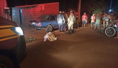 Homem é assassinado a tiros em frente de residência em Dourados