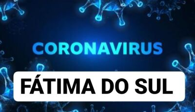 Feriadão começa com mais 13 novos casos de coronavírus e quase 60 ATIVOS em Fátima do Sul