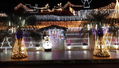 ENTÃO É NATAL: Família Verona mantém tradição e o espírito natalino renovado em Deodápolis