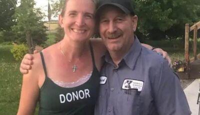 Professora doa rim e salva vida de zelador da escola