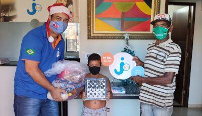 Pena Branca entrega cestas básicas, brinquedos, bicicletas e outros no Natal Solidário em Deodápolis