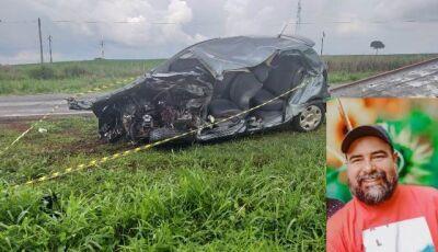 Morador de Caarapó morre em colisão na BR-163 entre Dourados e Caarapó