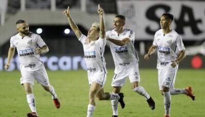 Santos atropela Boca Jr e terá o Palmeiras numa final Brasileira