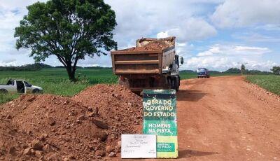 Sete municípios do sul e sudoeste são beneficiados com serviços de recuperação de estradas