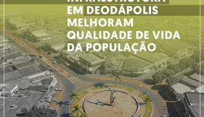 Governo de MS está investindo mais de R$ 24 milhões em asfalto, pontes e recapeamento em Deodápol