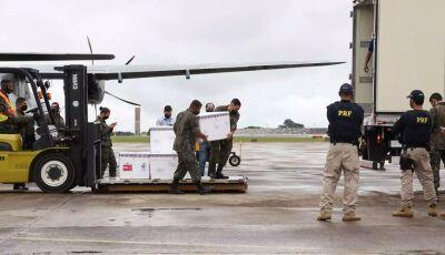 Mato Grosso do Sul deve receber hoje 35.700 doses de vacina