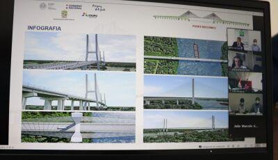 Edital da ponte sobre o Rio Paraguai será publicado em 3 de março e obra concluída até julho de