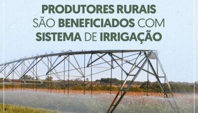 Jateí na lista, Agricultores de 08 cidades tiveram financiamento aprovado para sistema de irrigação