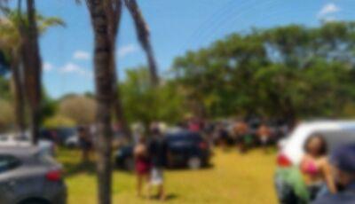 Rave clandestina com mais de 500 pessoas é encerrada pela Guarda