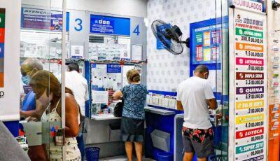 Apostador de MS acerta quina e fatura R$ 42.795,90 na Mega Sena