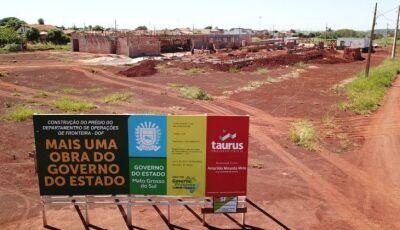 ACELERADA: Nova sede do DOF vai modernizar as ações tecnológicas no combate ao crime na fronteira