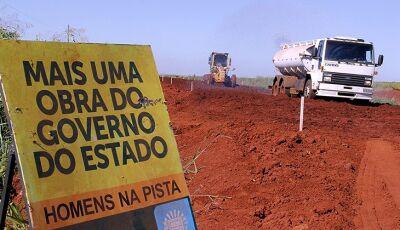 Com mais 4 frentes de obras, Estado já soma mais de R$ 350 milhões de investimentos em Dourados