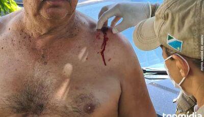 Major aposentado do Exército é baleado por assaltantes em Campo Grande
