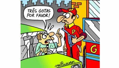 Facada: Petrobras anuncia novo aumento nos preços da gasolina e diesel