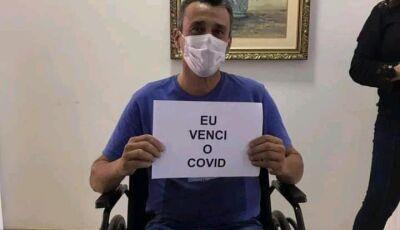 GLÓRIA DE DOURADOS: Prefeito recebe alta hospitalar após 11 dias internado por complicações da Covid
