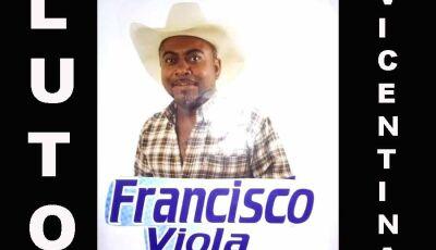 Terrível Covid-19 silencia a voz de Francisco da Viola de Vicentina