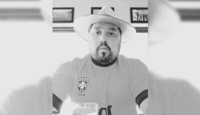 Morre o empresário Roberto Rivelino por complicações da Covid, luto em Ivinhema