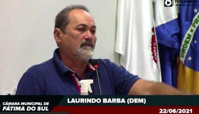 Após pedido de afastamento, Barba pede contratação de 01 Agente de Endemias para ESF de Culturama