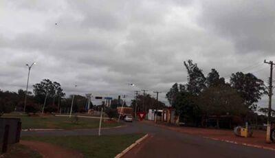 Semana inicia com chuva e Fátima do Sul pode ter 2º C na quarta feira