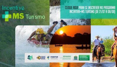 Programa Incentiva+MS Turismo tem inscrições abertas até 08 de agosto