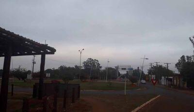 Temperatura despenca 23º em 12 horas em Fátima do Sul