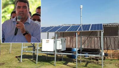 Riedel: 'Ilumina Pantanal levará desenvolvimento para milhares de pantaneiros'