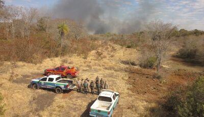 FOGO CONTROLADO: 03 fazendas e 6 mil hectares foram atingidos em Bonito, veja algumas fotos