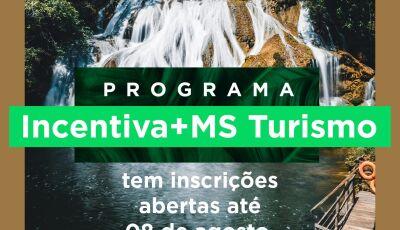 Inscrições para o auxílio de R$ 1.000 reais do Incentiva+MS Turismo termina nesta semana