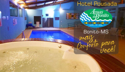 Águas de Bonito oferece muito conforto para seus melhores momentos na hospedagem em Bonito (MS)