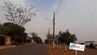 Ventania, poeira e risco de temporal traz chuva para Fátima do Sul