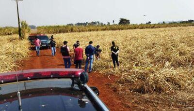 DEODÁPOLIS: Corpo é encontrado por populares às margens de estrada vicinal em Lagoa Bonita