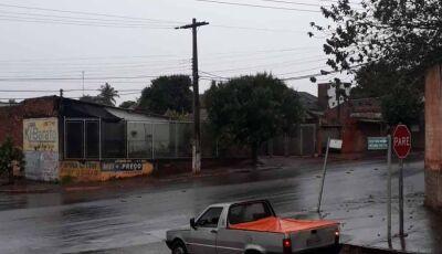 Frente fria traz chuva volumosa e risco de temporal para o MS e Fátima do Sul