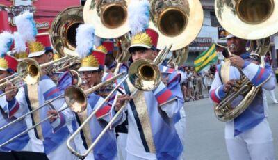 Bandas de Rio Verde de Mato Grosso e de Ivinhema recebem instrumentos musicais de prêmio da Funarte
