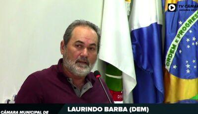 Barba pede por iluminação pública em diversas ruas 02 redutores de velocidade para Culturama