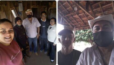 CULTURAMA: Barba visita 7ª Linha e Novo Planalto 'O carinho que recebemos não tem preço'