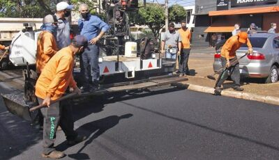 Governador Reinaldo Azambuja entrega R$ 26,5 milhões em obras em Dourados