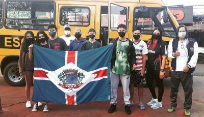 Fátima do Sul embarca para competições dos Jogos Escolares da Juventude de Mato Grosso do Sul