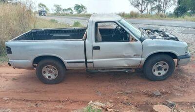 Caminhonete S10 furtada em frente residência é recuperada pela Polícia Civil de Glória de Dourados