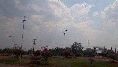 Inmet alerta para chuva com granizo e ventos de até 100 km por hora na região de Fátima do Sul e MS